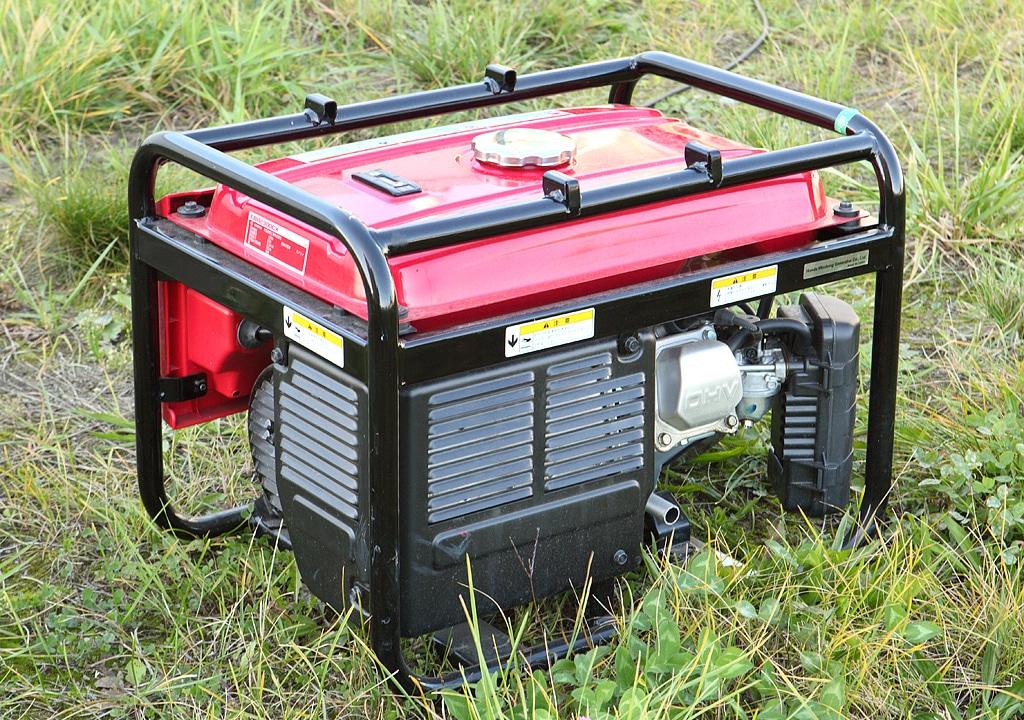 Red portable power generator